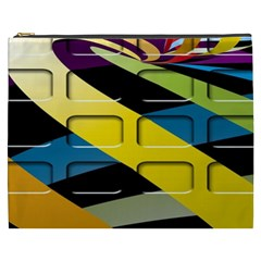 Colorful Docking Frame Cosmetic Bag (xxxl)  by BangZart