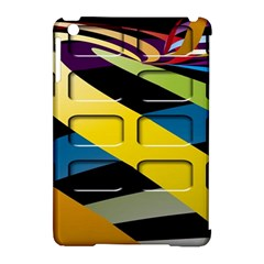 Colorful Docking Frame Apple Ipad Mini Hardshell Case (compatible With Smart Cover) by BangZart