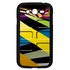 Colorful Docking Frame Samsung Galaxy Grand Duos I9082 Case (black) by BangZart