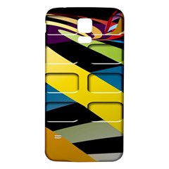 Colorful Docking Frame Samsung Galaxy S5 Back Case (white) by BangZart