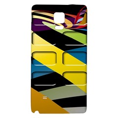 Colorful Docking Frame Galaxy Note 4 Back Case by BangZart
