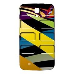 Colorful Docking Frame Samsung Galaxy Mega I9200 Hardshell Back Case by BangZart