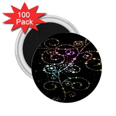 Sparkle Design 2 25  Magnets (100 Pack)  by BangZart