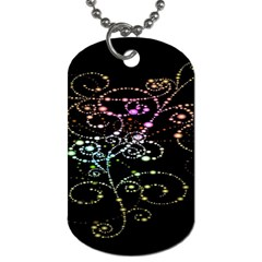 Sparkle Design Dog Tag (two Sides) by BangZart