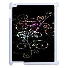 Sparkle Design Apple Ipad 2 Case (white) by BangZart