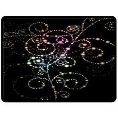 Sparkle Design Double Sided Fleece Blanket (large)  by BangZart
