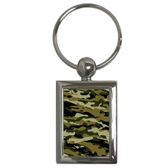 Military Vector Pattern Texture Key Chains (rectangle)  by BangZart