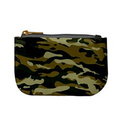 Military Vector Pattern Texture Mini Coin Purses
