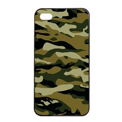 Military Vector Pattern Texture Apple Iphone 4/4s Seamless Case (black) by BangZart