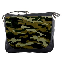 Military Vector Pattern Texture Messenger Bags by BangZart