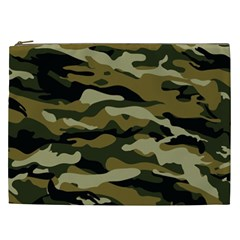 Military Vector Pattern Texture Cosmetic Bag (xxl)  by BangZart
