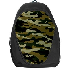 Military Vector Pattern Texture Backpack Bag by BangZart