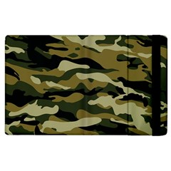 Military Vector Pattern Texture Apple Ipad 2 Flip Case by BangZart