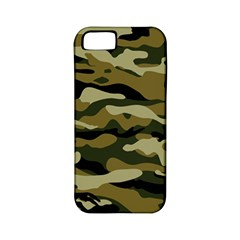 Military Vector Pattern Texture Apple Iphone 5 Classic Hardshell Case (pc+silicone) by BangZart