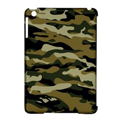 Military Vector Pattern Texture Apple Ipad Mini Hardshell Case (compatible With Smart Cover) by BangZart
