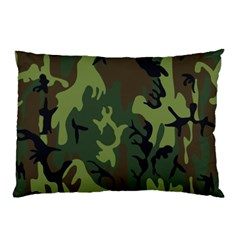 Military Camouflage Pattern Pillow Case by BangZart