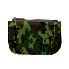 Military Camouflage Pattern Mini Coin Purses by BangZart