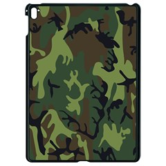 Military Camouflage Pattern Apple Ipad Pro 9 7   Black Seamless Case by BangZart