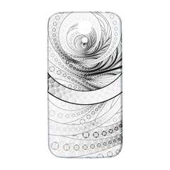 Enso, A Perfect Black And White Zen Fractal Circle Samsung Galaxy S4 I9500/i9505  Hardshell Back Case by beautifulfractals