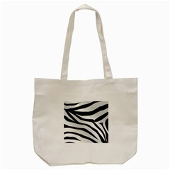 White Tiger Skin Tote Bag (cream) by BangZart
