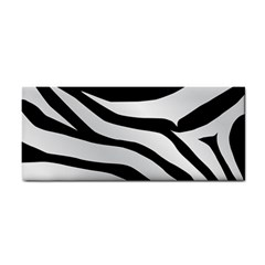 White Tiger Skin Cosmetic Storage Cases by BangZart