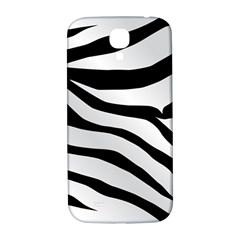 White Tiger Skin Samsung Galaxy S4 I9500/i9505  Hardshell Back Case by BangZart