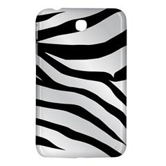 White Tiger Skin Samsung Galaxy Tab 3 (7 ) P3200 Hardshell Case  by BangZart