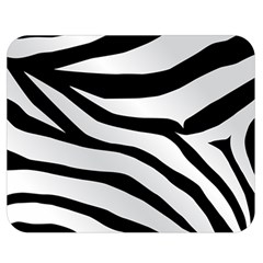 White Tiger Skin Double Sided Flano Blanket (medium)  by BangZart