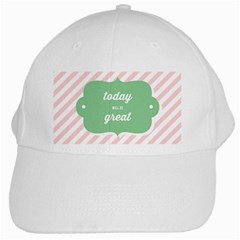 Today Will Be Great White Cap by BangZart