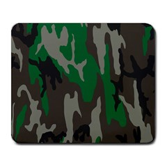 Army Green Camouflage Large Mousepads by BangZart