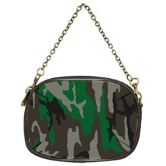 Army Green Camouflage Chain Purses (one Side)  by BangZart