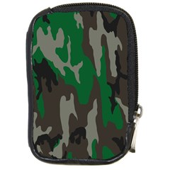 Army Green Camouflage Compact Camera Cases by BangZart