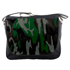 Army Green Camouflage Messenger Bags by BangZart