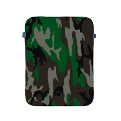 Army Green Camouflage Apple Ipad 2/3/4 Protective Soft Cases