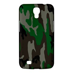 Army Green Camouflage Samsung Galaxy Mega 6 3  I9200 Hardshell Case by BangZart