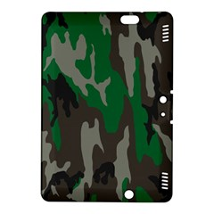 Army Green Camouflage Kindle Fire Hdx 8 9  Hardshell Case by BangZart
