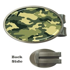 Camouflage Camo Pattern Money Clips (oval)  by BangZart