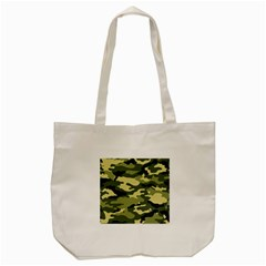 Camouflage Camo Pattern Tote Bag (cream) by BangZart