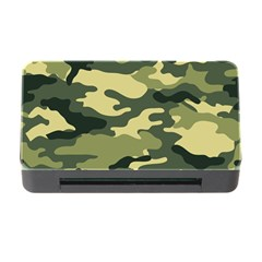 Camouflage Camo Pattern Memory Card Reader With Cf by BangZart