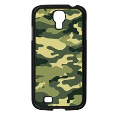 Camouflage Camo Pattern Samsung Galaxy S4 I9500/ I9505 Case (black) by BangZart