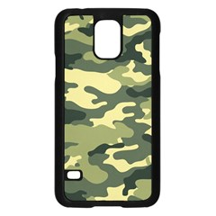 Camouflage Camo Pattern Samsung Galaxy S5 Case (black) by BangZart