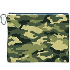 Camouflage Camo Pattern Canvas Cosmetic Bag (xxxl) by BangZart