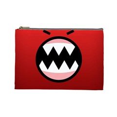Funny Angry Cosmetic Bag (large)  by BangZart
