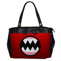 Funny Angry Office Handbags by BangZart