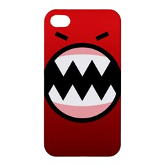 Funny Angry Apple Iphone 4/4s Hardshell Case
