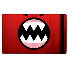 Funny Angry Apple Ipad 2 Flip Case by BangZart