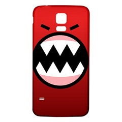 Funny Angry Samsung Galaxy S5 Back Case (white) by BangZart