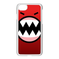 Funny Angry Apple Iphone 7 Seamless Case (white) by BangZart