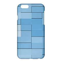 Blue Squares Iphone 5 Wallpaper Apple Iphone 6 Plus/6s Plus Hardshell Case by BangZart