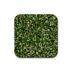 Camo Pattern Rubber Square Coaster (4 Pack)  by BangZart